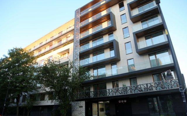 Апартаменты ASKI New Powisle Apartment вид на фасад