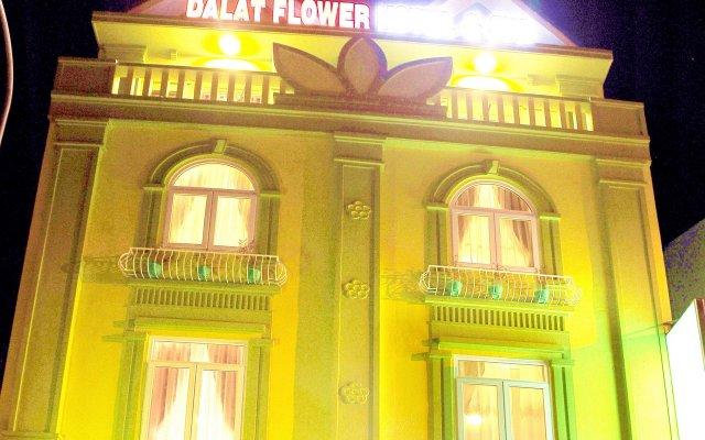 Отель Dalat Flower Далат вид на фасад