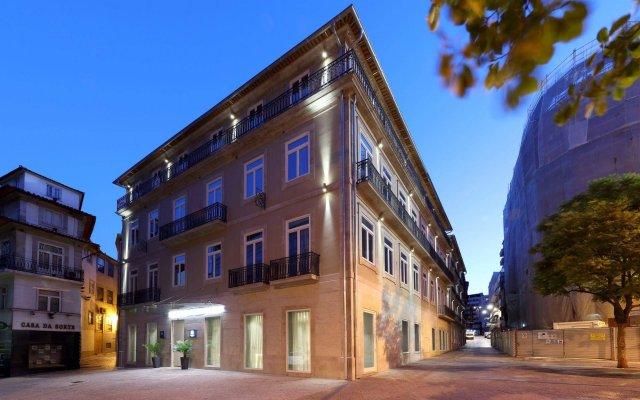 Отель Eurostars Porto Centro Порту вид на фасад