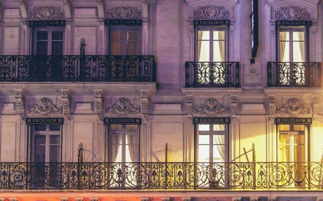 Отель Excelsior Opera Париж вид на фасад