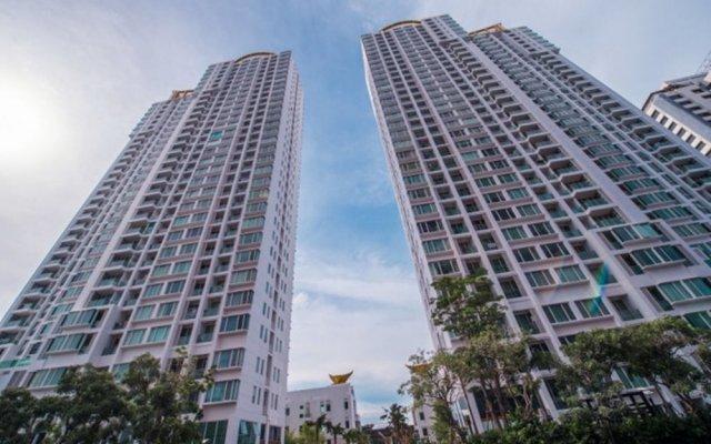Отель Tc Green By Jummie Бангкок вид на фасад