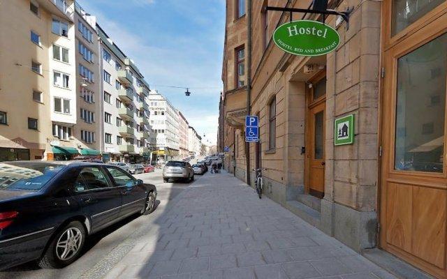 Hostel Bed & Breakfast Стокгольм вид на фасад