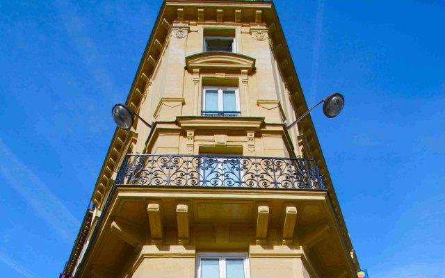 Hotel Andre Latin вид на фасад
