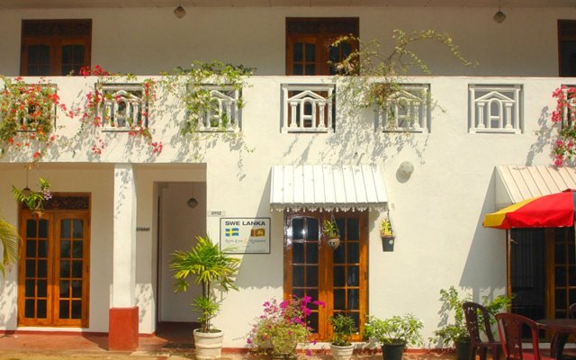 Отель swelanka residence Шри-Ланка, Бентота - отзывы, цены и фото номеров - забронировать отель swelanka residence онлайн вид на фасад