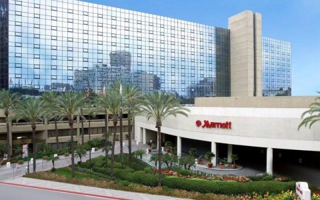 Отель The La Hotel Downtown (Ex Marriott) США, Лос-Анджелес - отзывы, цены и фото номеров - забронировать отель The La Hotel Downtown (Ex Marriott) онлайн вид на фасад
