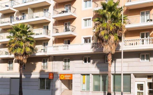 Отель Aparthotel Adagio access Nice Magnan Франция, Ницца - 12 отзывов об отеле, цены и фото номеров - забронировать отель Aparthotel Adagio access Nice Magnan онлайн вид на фасад