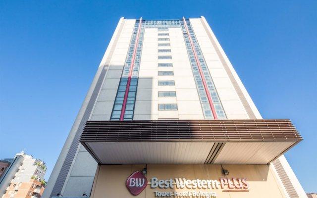 Отель Best Western Plus Tower Hotel Bologna Италия, Болонья - отзывы, цены и фото номеров - забронировать отель Best Western Plus Tower Hotel Bologna онлайн вид на фасад