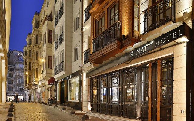 Sanat Hotel Pera Boutique вид на фасад