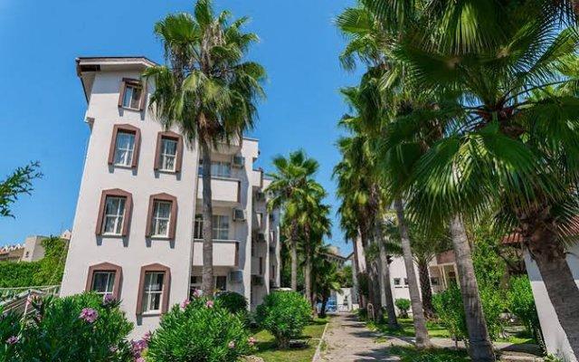 Отель Nergos Garden вид на фасад