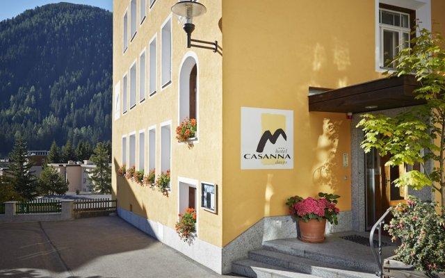 Hotel Casanna вид на фасад
