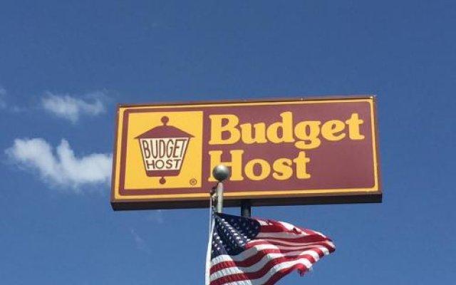 Отель Budget Host Platte Valley Inn вид на фасад