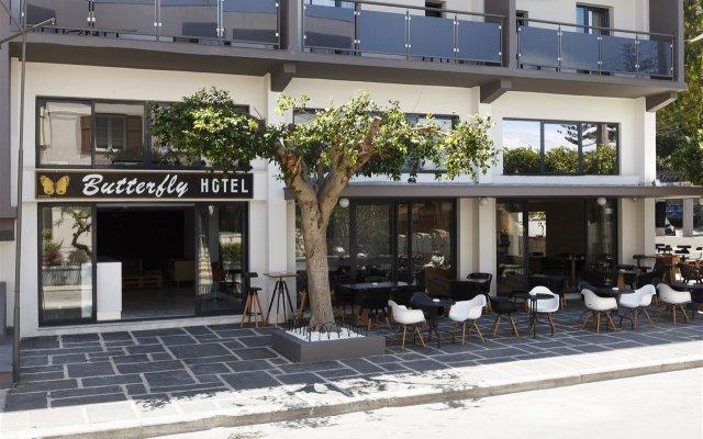 Отель Butterfly Hotel Греция, Родос - отзывы, цены и фото номеров - забронировать отель Butterfly Hotel онлайн вид на фасад