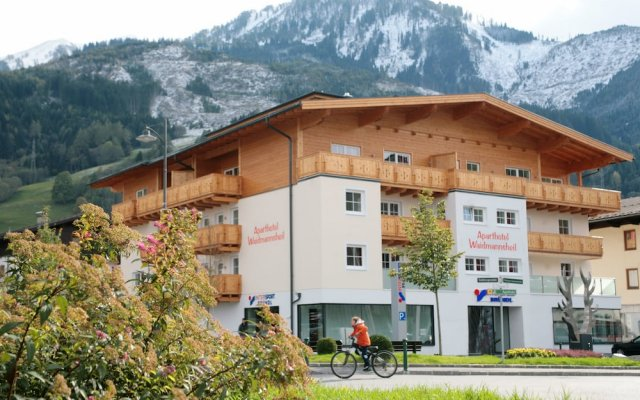 Отель Aparthotel Waidmannsheil вид на фасад