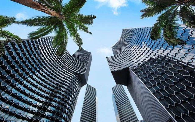 Отель Andaz Singapore - a concept by Hyatt пляж