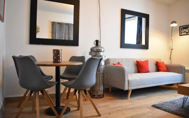 Апартаменты Spacious 1 Bedroom Apartment in Sacré Coeur