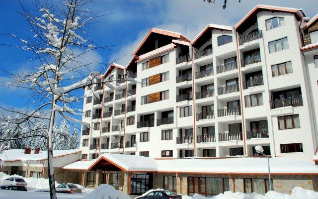 Отель Borovets Gardens Aparthotel Болгария, Боровец - отзывы, цены и фото номеров - забронировать отель Borovets Gardens Aparthotel онлайн вид на фасад