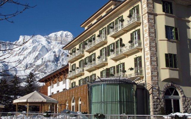 Grand Hotel Savoia вид на фасад