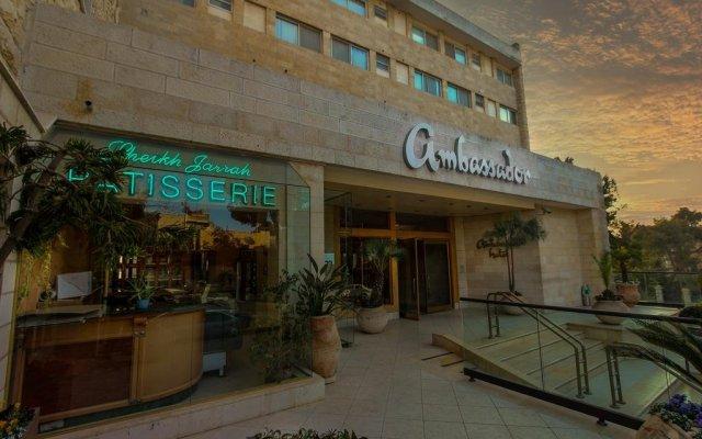 Ambassador Hotel Jerusalem Израиль, Иерусалим - отзывы, цены и фото номеров - забронировать отель Ambassador Hotel Jerusalem онлайн вид на фасад