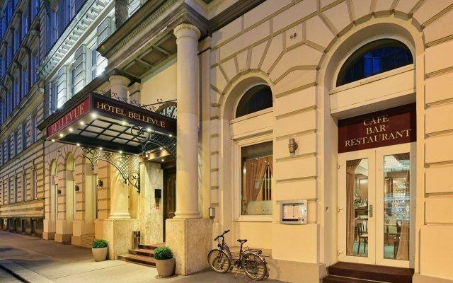 Отель Bellevue Hotel Австрия, Вена - - забронировать отель Bellevue Hotel, цены и фото номеров вид на фасад