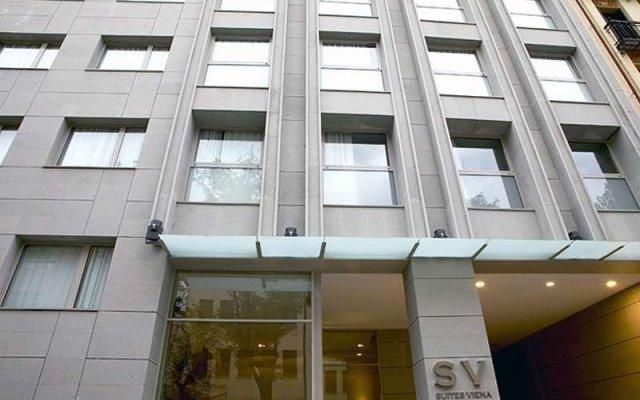 Отель Suites Viena Plaza De Espana вид на фасад