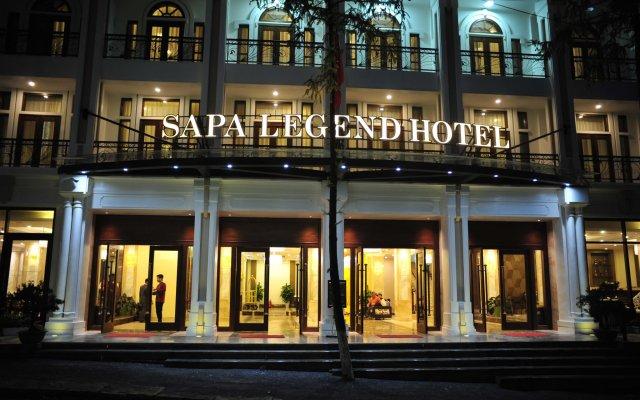 Sapa Legend Hotel & Spa вид на фасад