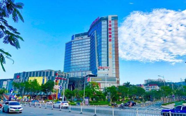 Отель Xiamen Wanjia International Hotel Китай, Сямынь - отзывы, цены и фото номеров - забронировать отель Xiamen Wanjia International Hotel онлайн вид на фасад