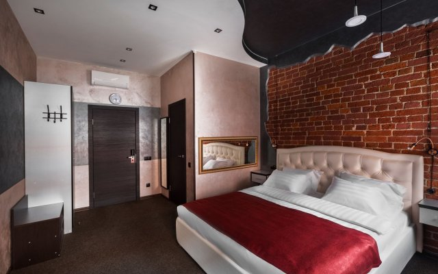 Hotel Kirpich комната для гостей