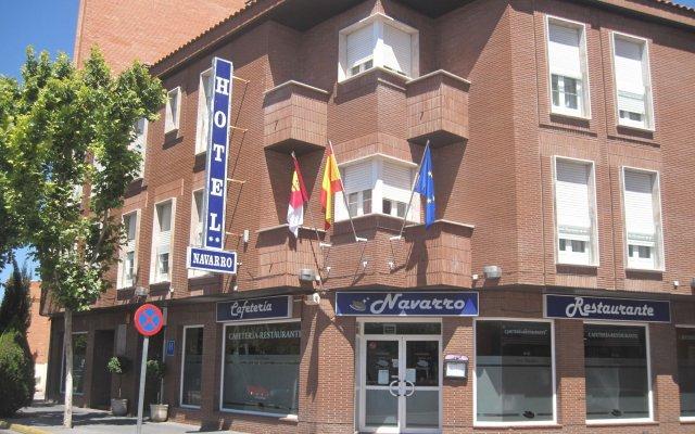 Отель Navarro Испания, Сьюдад-Реаль - отзывы, цены и фото номеров - забронировать отель Navarro онлайн вид на фасад