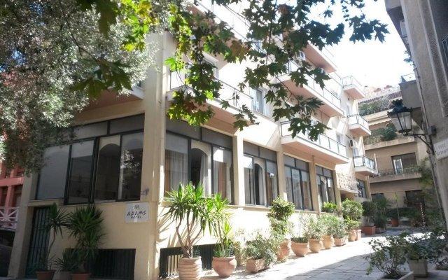 Отель Adams Hotel Греция, Афины - 1 отзыв об отеле, цены и фото номеров - забронировать отель Adams Hotel онлайн вид на фасад