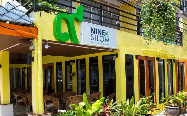 Отель Nine@silom Бангкок вид на фасад