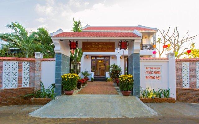 Отель Trendy life villa вид на фасад
