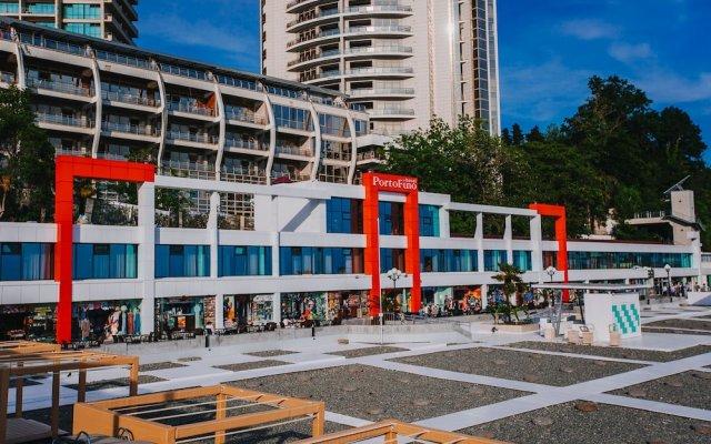 Portofino Hotel Сочи вид на фасад