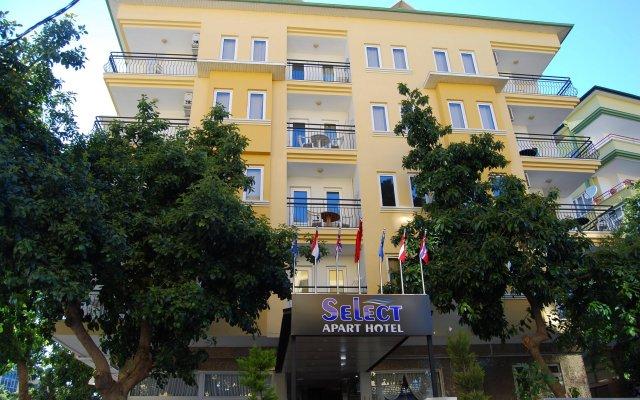 Select Apart Hotel вид на фасад