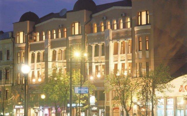 Гостиница Astoria Hotel Украина, Днепр - отзывы, цены и фото номеров - забронировать гостиницу Astoria Hotel онлайн вид на фасад