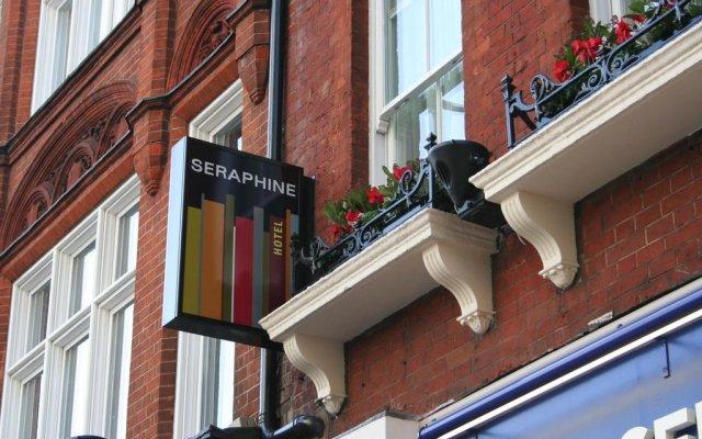 Seraphine Kensington Olympia Hotel вид на фасад