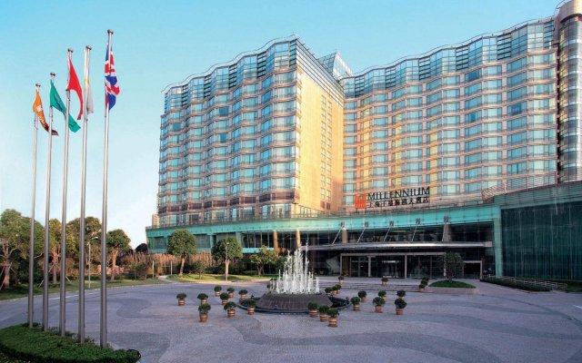 Отель Grand Millennium HongQiao Shanghai вид на фасад