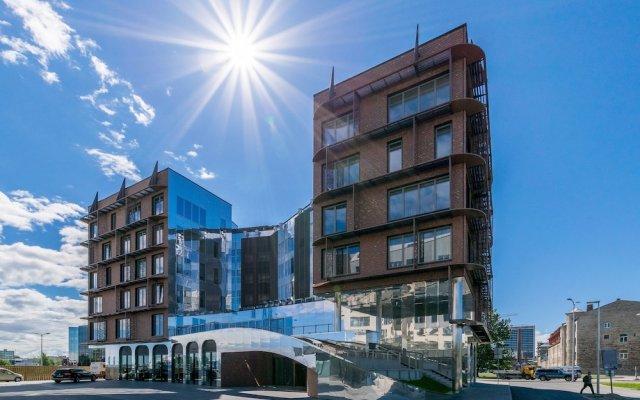 Апартаменты Tallinn Luxury Apartments with sauna and old town view вид на фасад