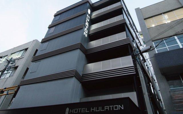 HOTEL HULATON fukuoka hakata Хаката вид на фасад