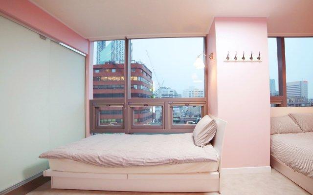 Отель MJ Guest House Сеул комната для гостей