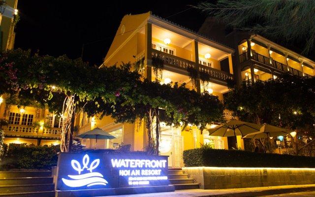 Отель Waterfront Hoi An Resort вид на фасад