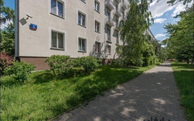 Отель P&O Apartments Muranow Польша, Варшава - отзывы, цены и фото номеров - забронировать отель P&O Apartments Muranow онлайн вид на фасад