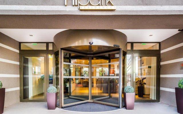 Отель Hipark By Adagio Marseille Марсель вид на фасад