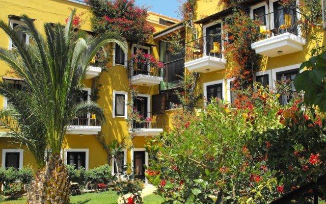 Meldi Hotel Турция, Калкан - отзывы, цены и фото номеров - забронировать отель Meldi Hotel онлайн вид на фасад