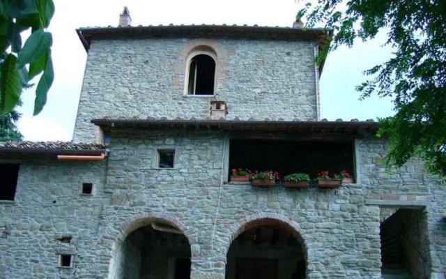 Отель Agriturismo Luce Реггелло вид на фасад