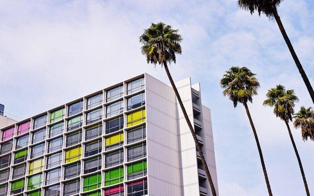 Отель The Line США, Лос-Анджелес - отзывы, цены и фото номеров - забронировать отель The Line онлайн вид на фасад