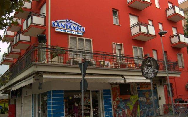 Hotel Santanna вид на фасад