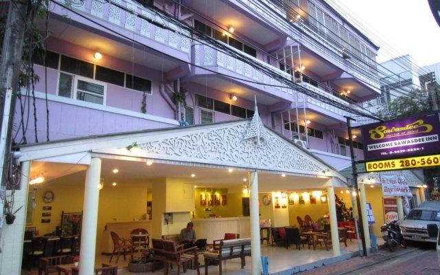 Отель Sawasdee Welcome Inn Таиланд, Бангкок - 3 отзыва об отеле, цены и фото номеров - забронировать отель Sawasdee Welcome Inn онлайн вид на фасад