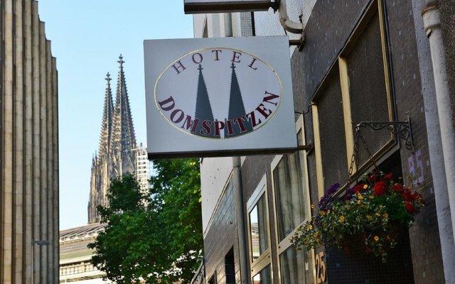 Hotel Domspitzen вид на фасад