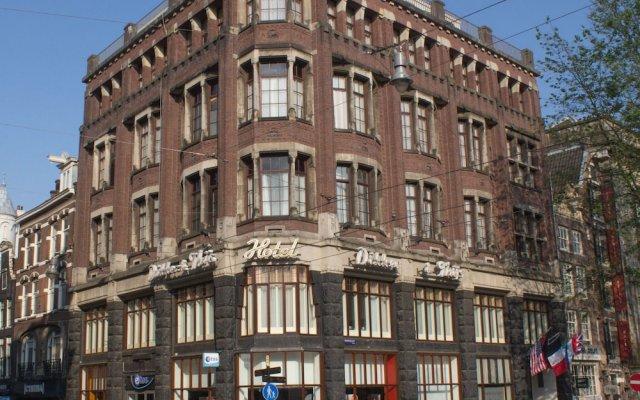 Отель Dikker en Thijs Fenice Hotel Нидерланды, Амстердам - 9 отзывов об отеле, цены и фото номеров - забронировать отель Dikker en Thijs Fenice Hotel онлайн вид на фасад