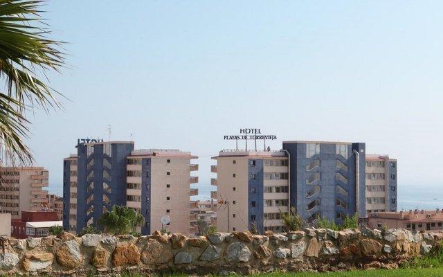 Отель Playas de Torrevieja вид на фасад